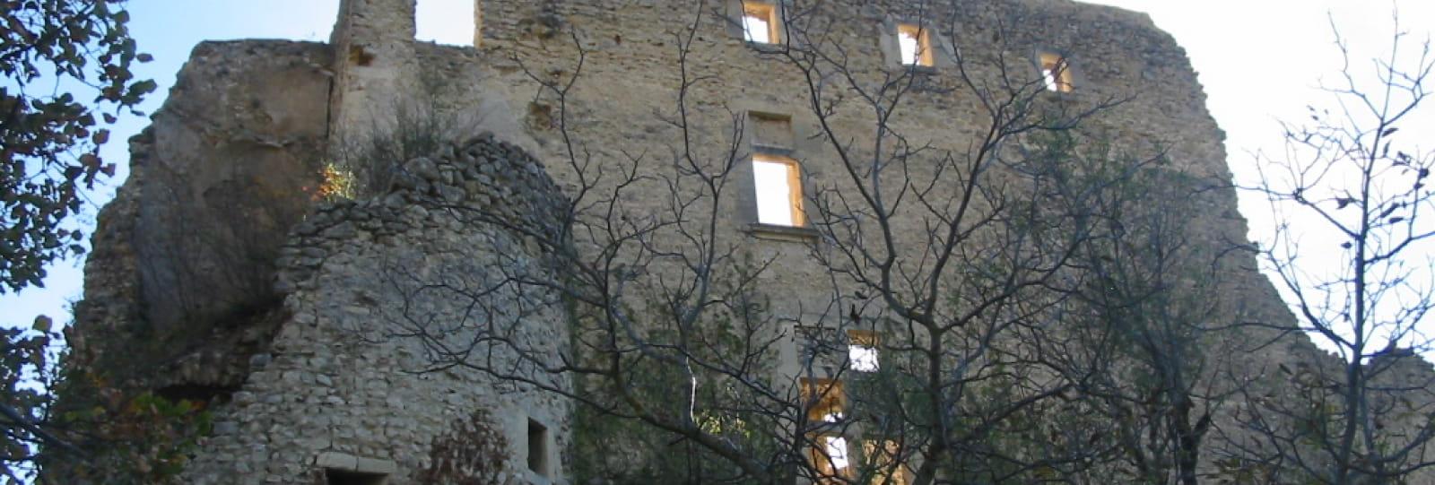 Château de Montbrun les Bains