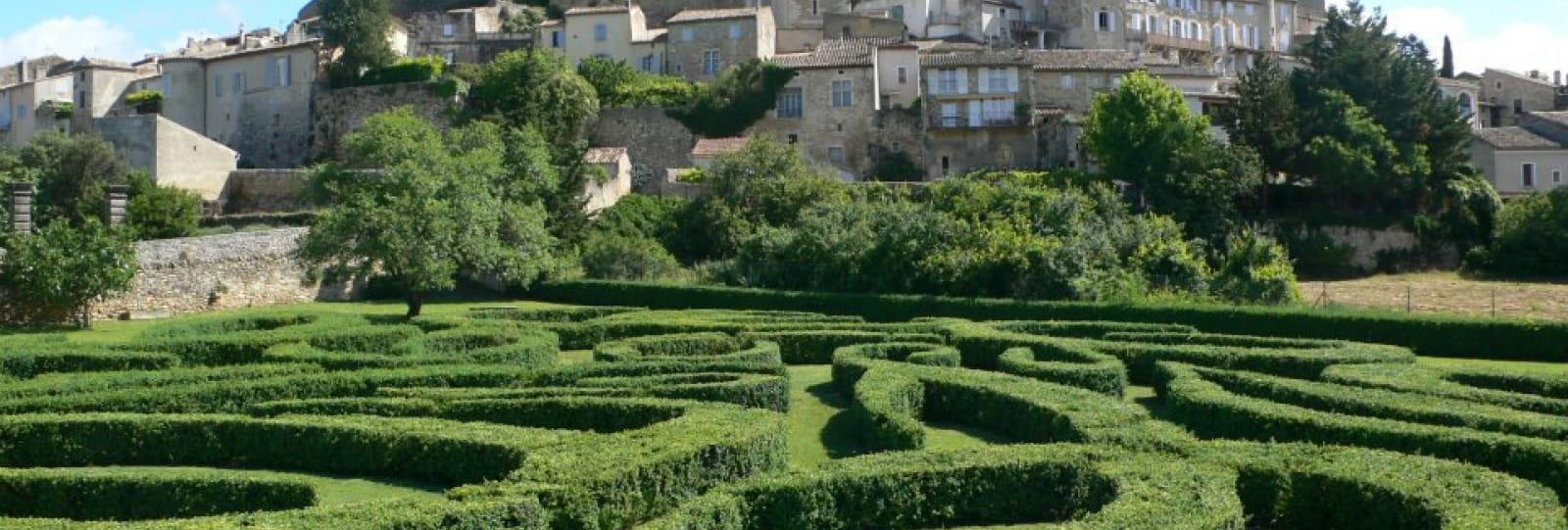 Le labyrinthe - Jardin Sévigné