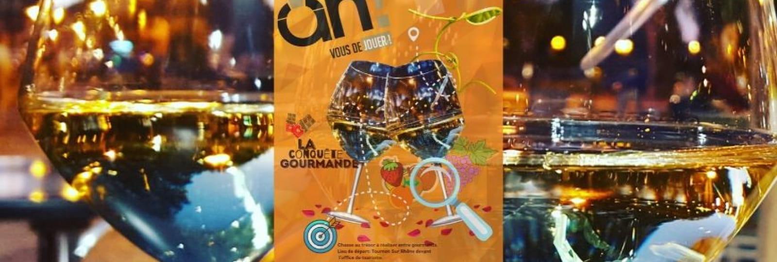 Chasse au trésor 'La conquête gourmande'_Tournon Tain_Ardèche Hermitage Tourisme