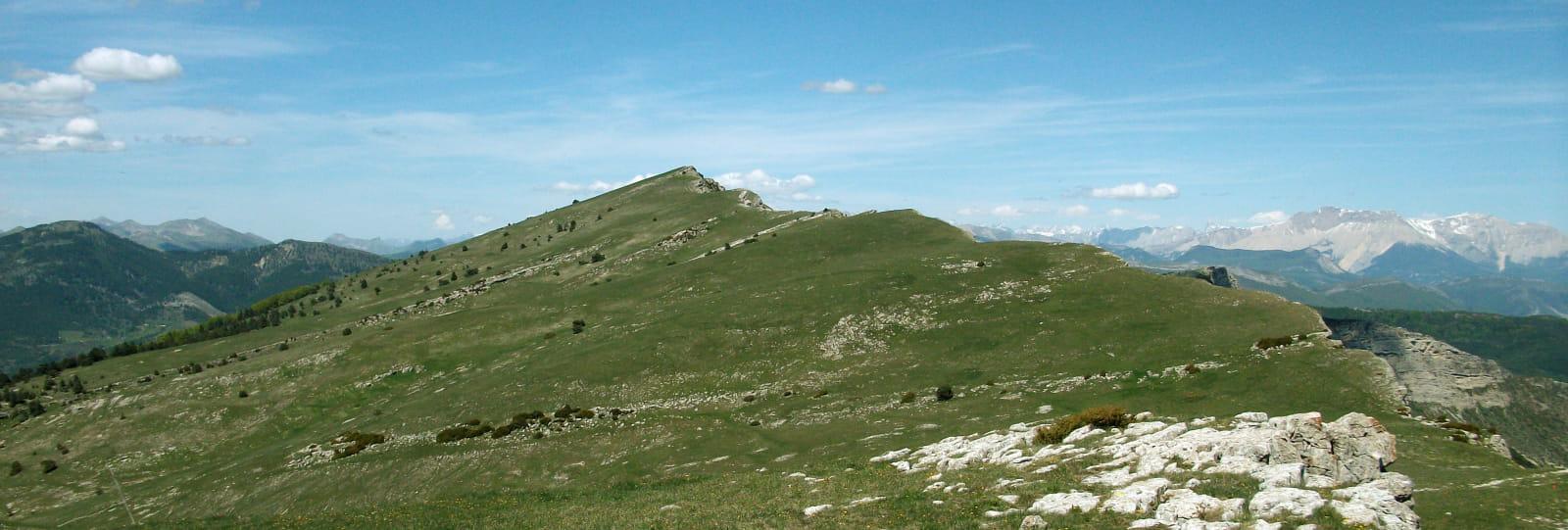 Les crêtes de la Sarcena