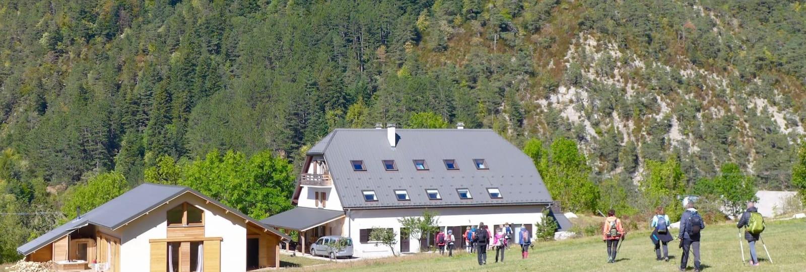 La Jarjatte stop-over lodging - Valgabondage