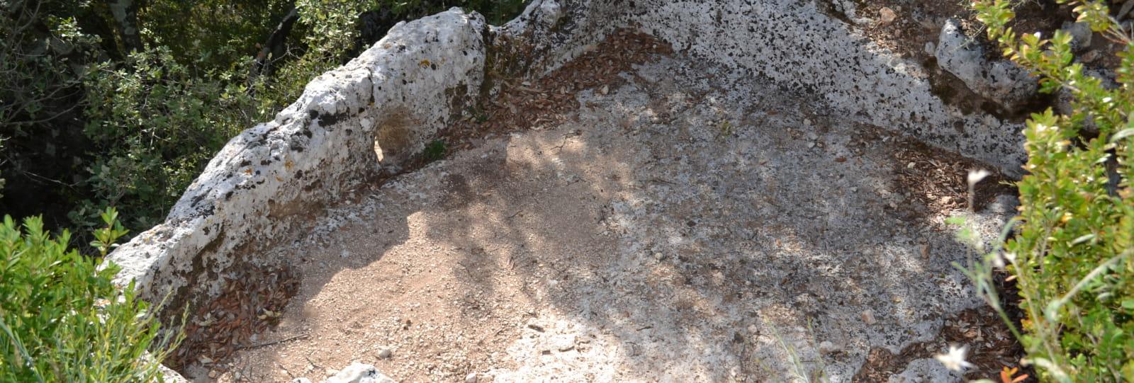 Randonnée guidée autour des cuves lapidaires de La Garde Adhémar