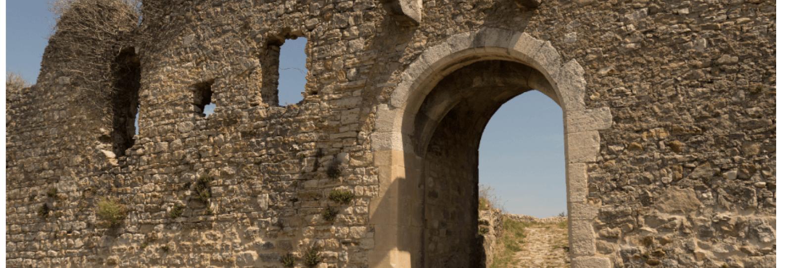 les cinq portes du château