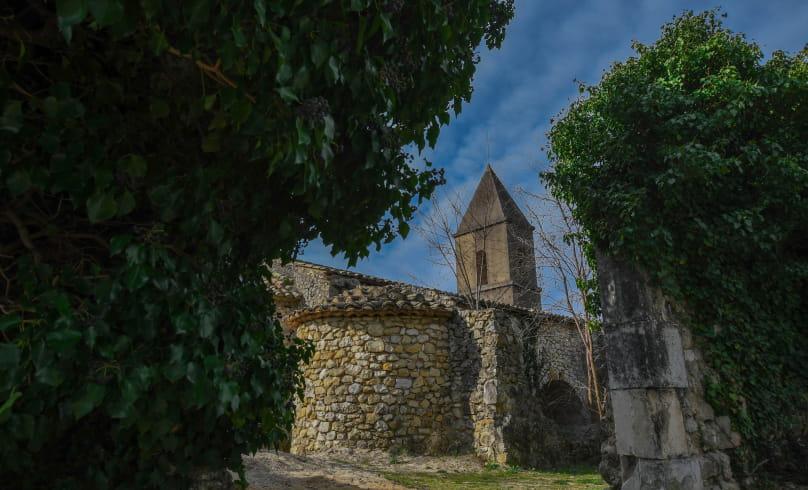Vieille église de Lachamp