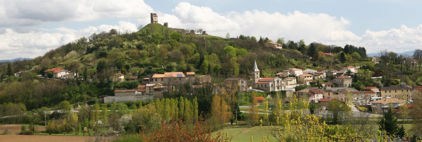 Le village de Mercurol