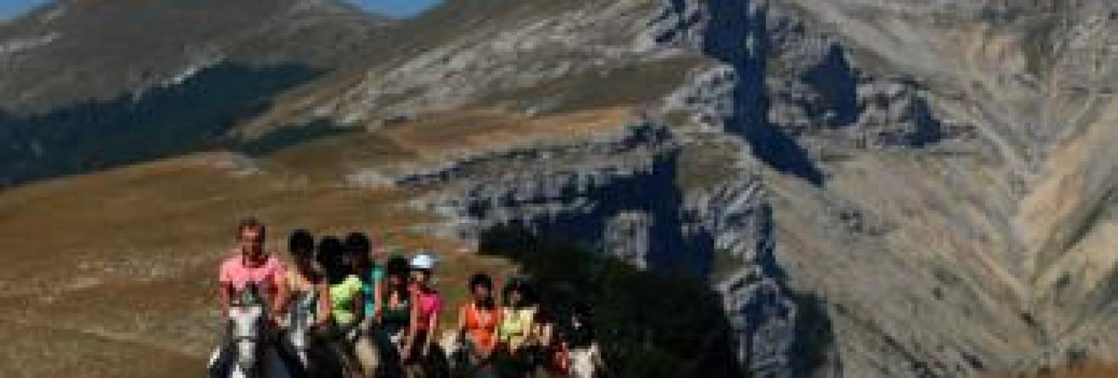 Rando équestre itinérante Juniors (13-17 ans) sur les plateaux du Vercors