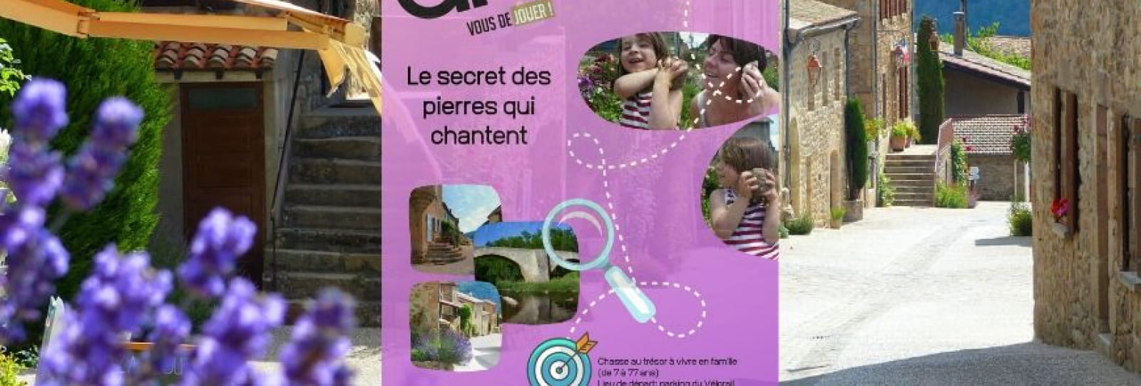 Chasse au trésot Le secret des pierres qui chantent_Boucieu le Roi_Ardèche Hermitage Tourisme