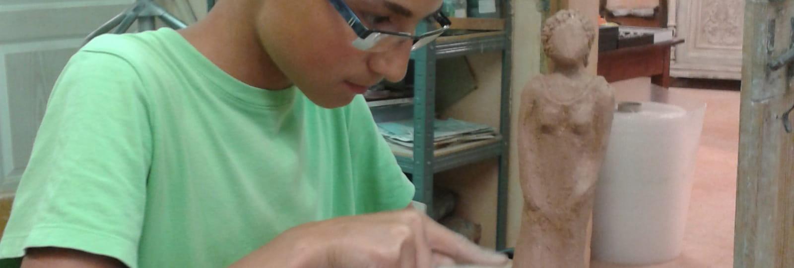 Atelier poterie-sculpture (Baladez curieux)