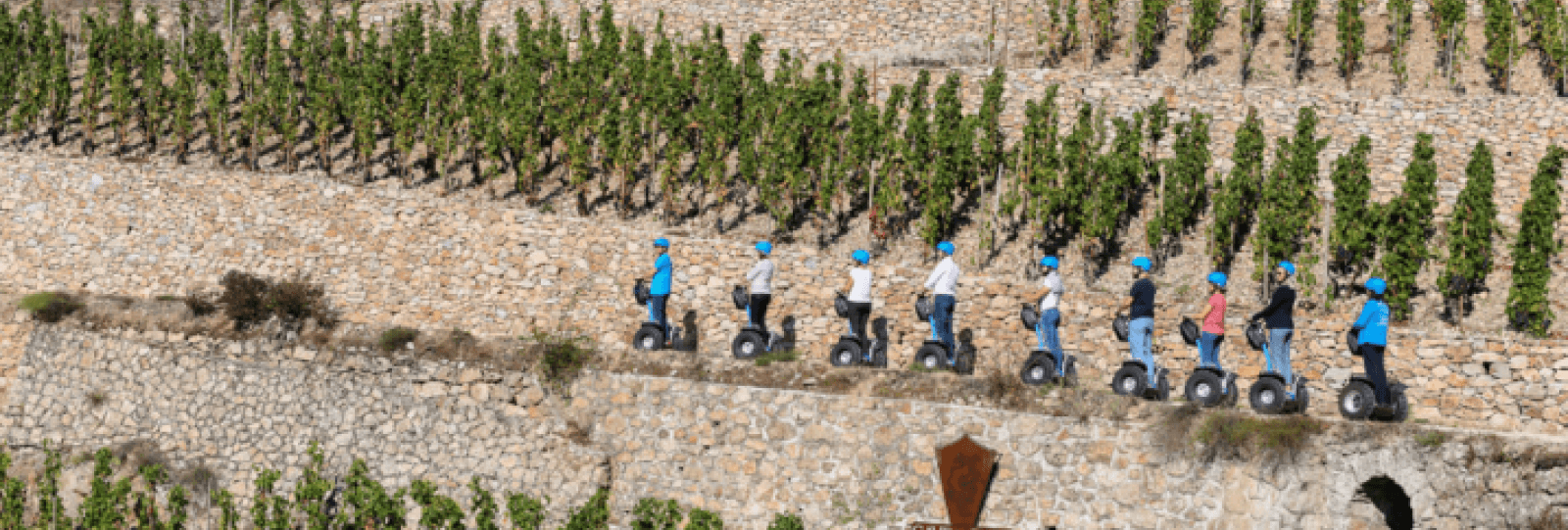 Balade en gyropode « Vignes et Histoire » avec Terres de Syrah