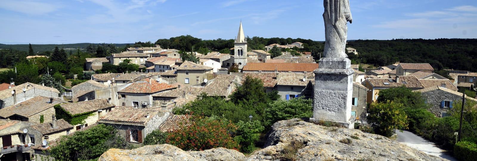 Vue générale - Village de Réauville