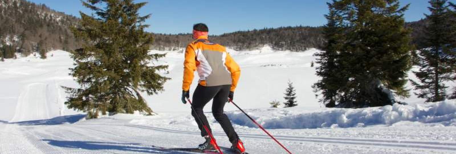 Parcours de ski d'orientation Chaud Clapier