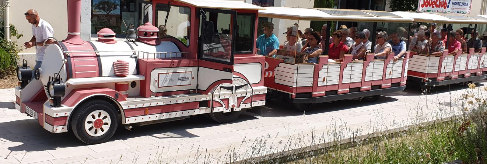 petit train touristique de Montélimar