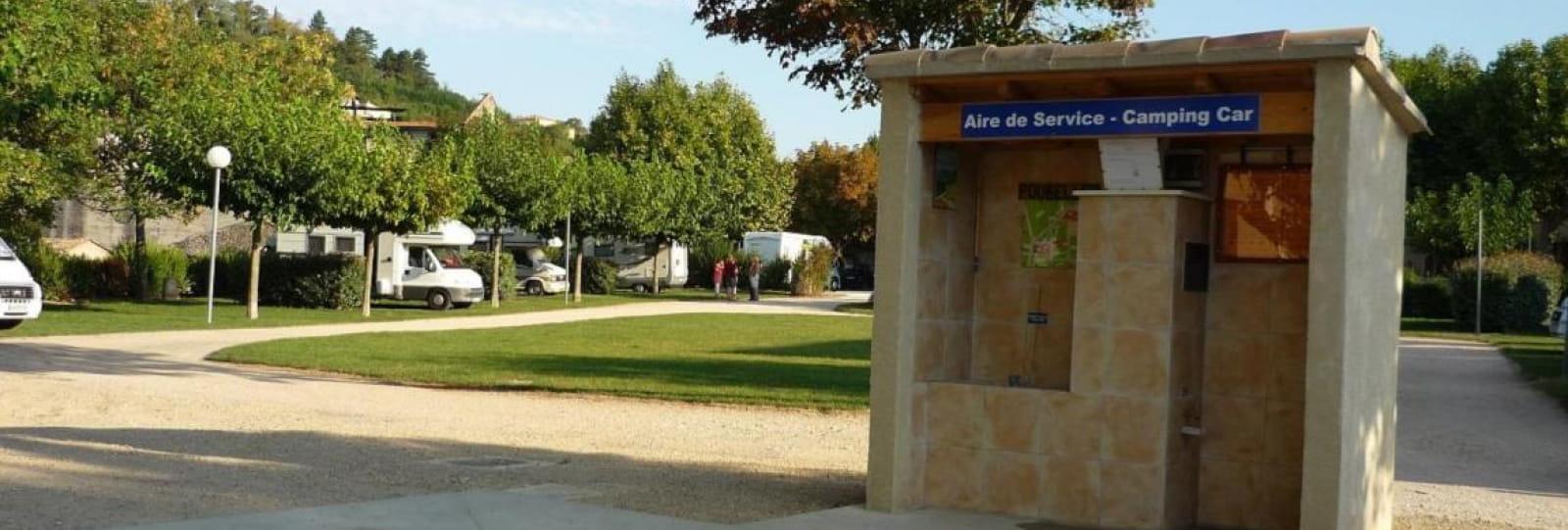 Aire Camping-Cars de Puy Saint Martin