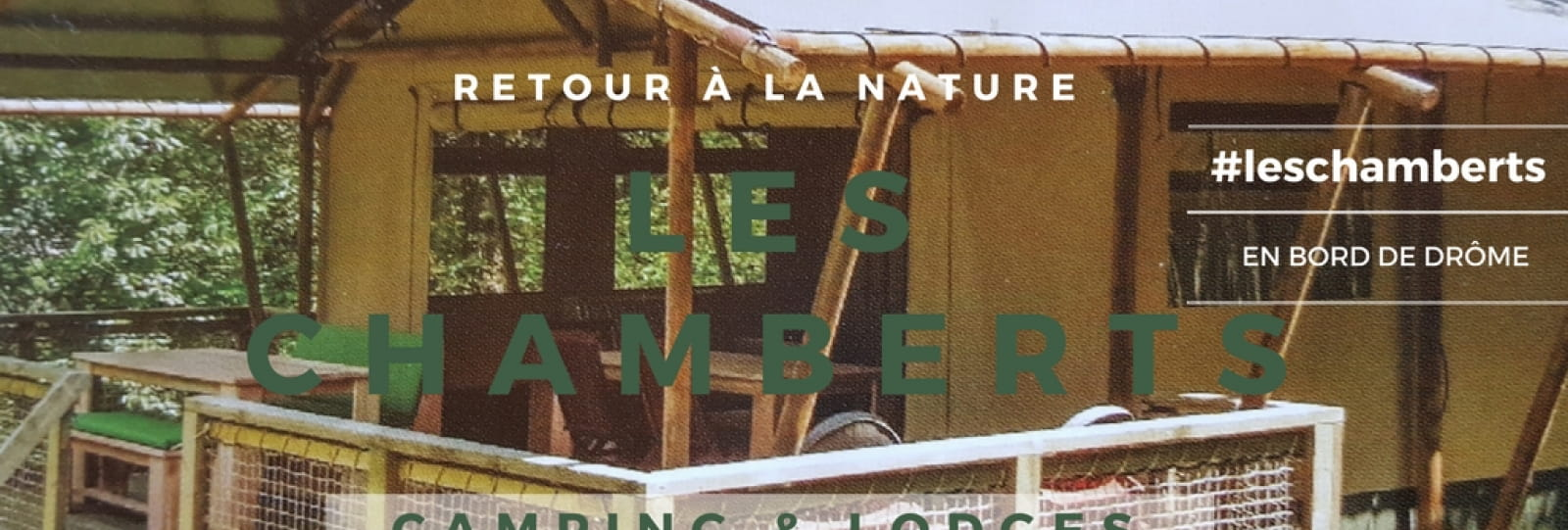 Les Chamberts, Camping et Lodges