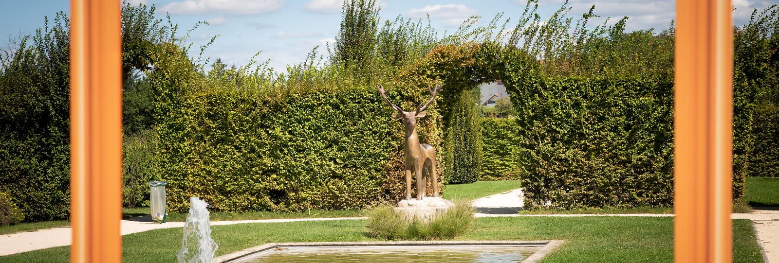 Sculpture 'Le Cerf'