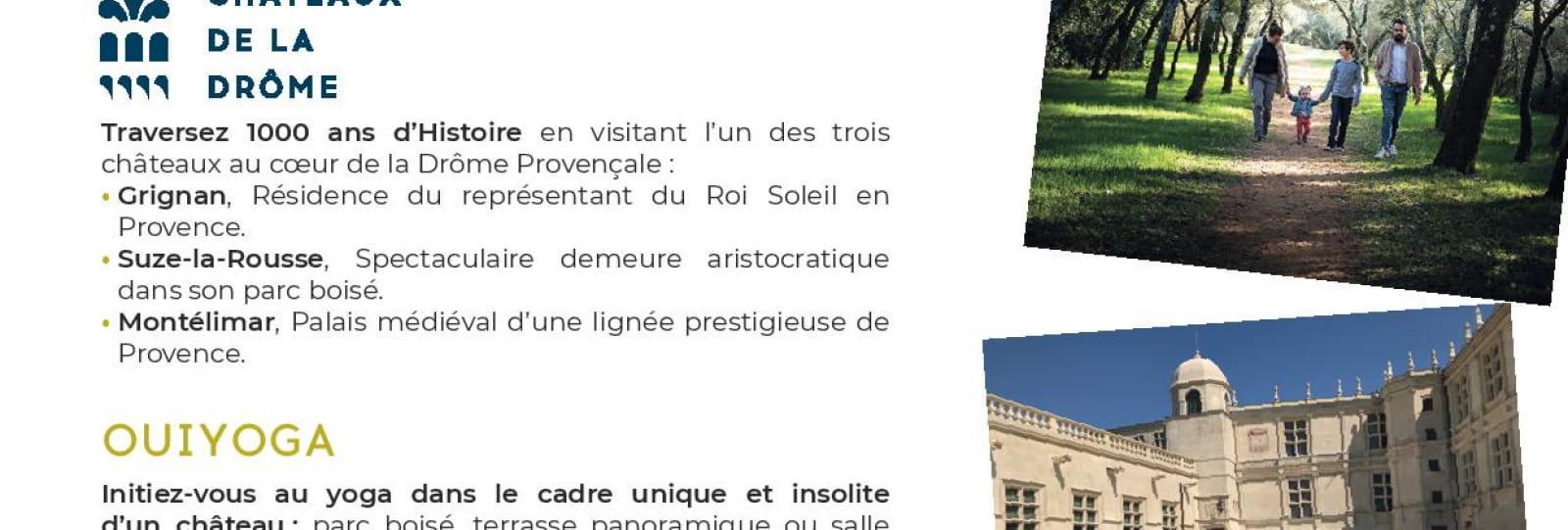 Recto - Journée Zen - Château de Grignan