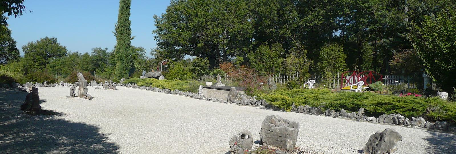Le Jardin Zen de Montvendre