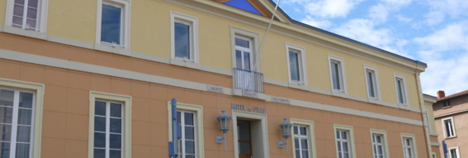 Hotel de Ville de Bourg de Péage (ex Cloître des Minimes)
