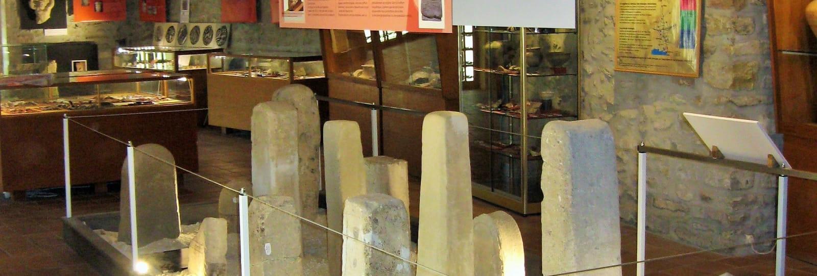 Stèles héroïques du sanctuaire - Musée archéologique - Le Pègue