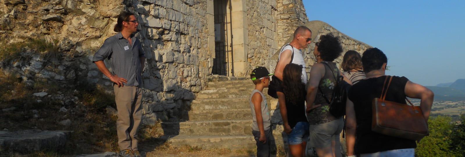 Visite commentée du vieux village de Marsanne