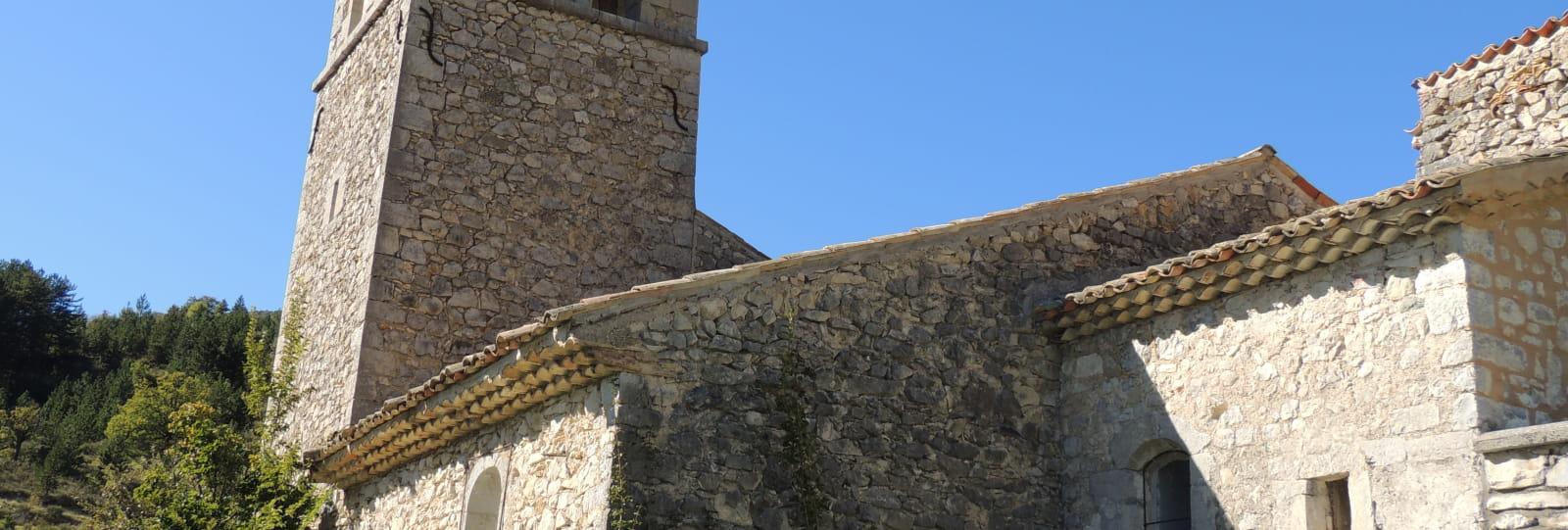 Eglise des Asnières à Montfroc