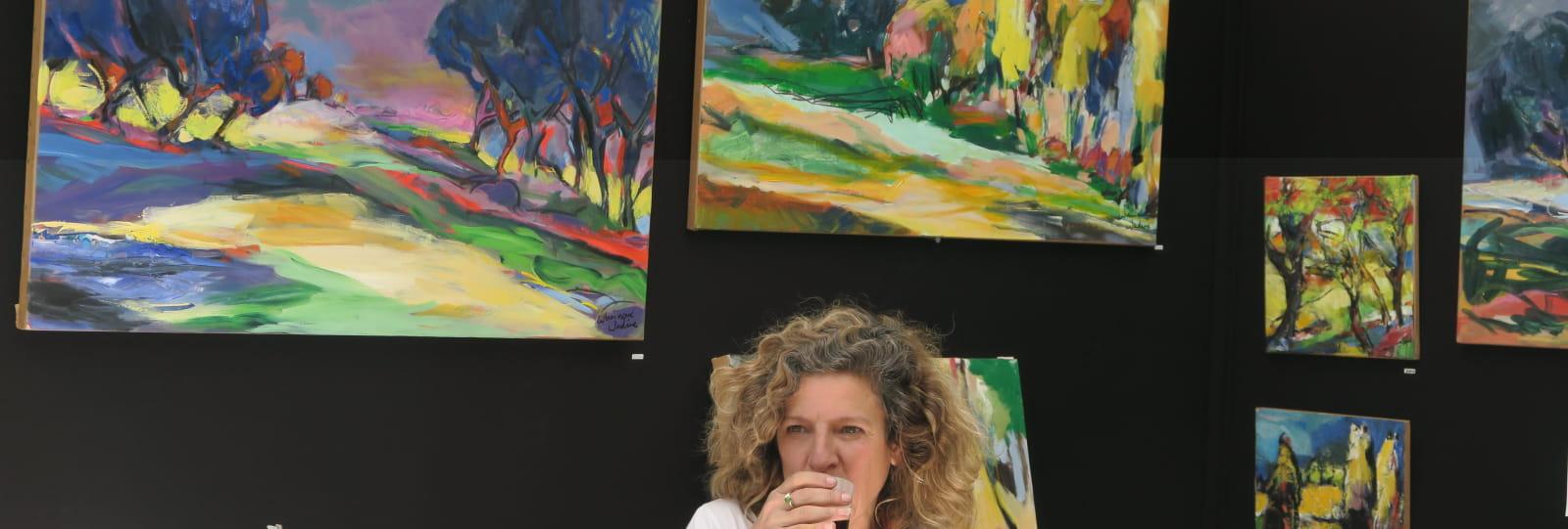 Atelier de peinture La ferme des Dames