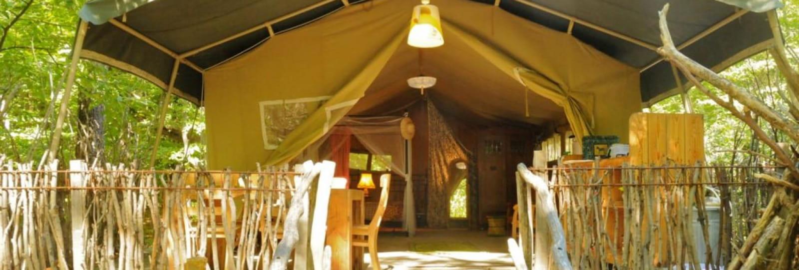 Camping Le Grand Bois - Tente Safari