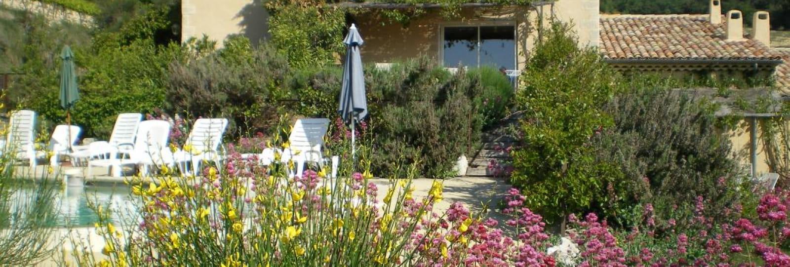 Gites de la Crose - Terrasse le Florie