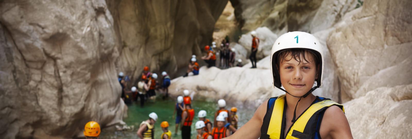 canyoning Joel Poncon