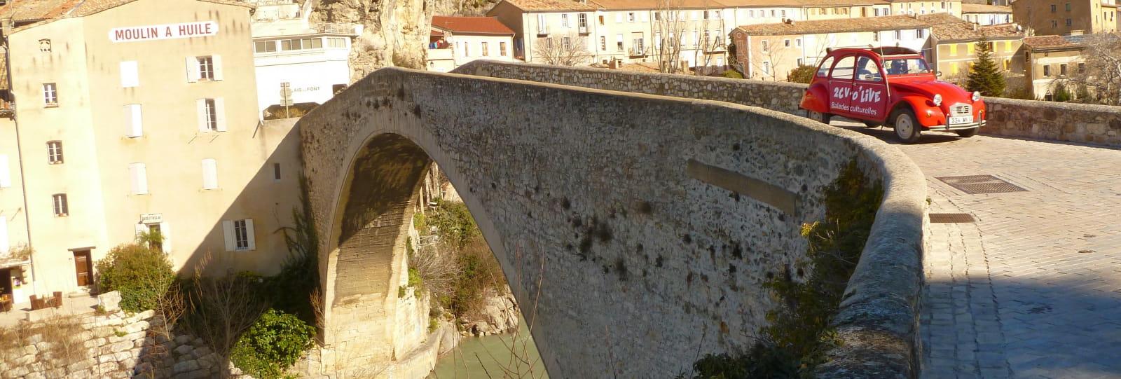 Balade culturelle en 2cv : Panoramique de Garde-Grosse