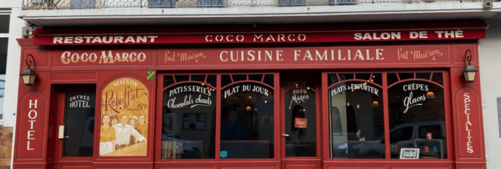 Restaurant Salon de thé Coco Marco