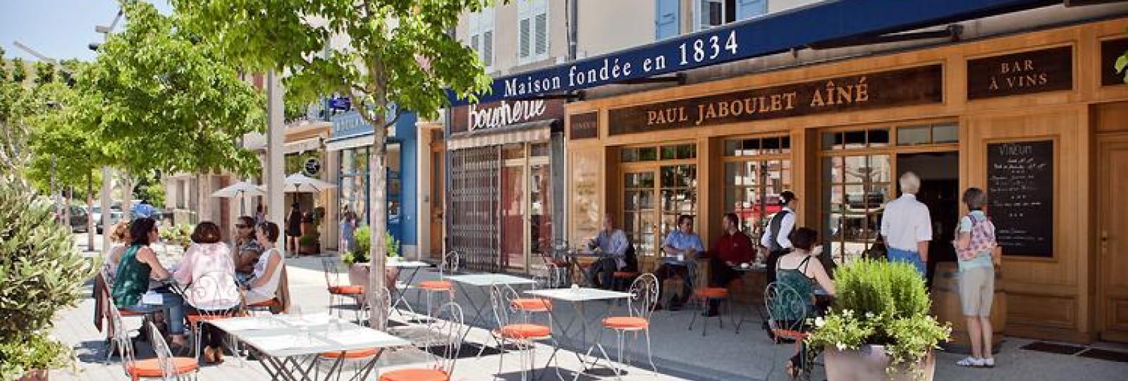 Terrasse Vineum Paul Jaboulet Ainé