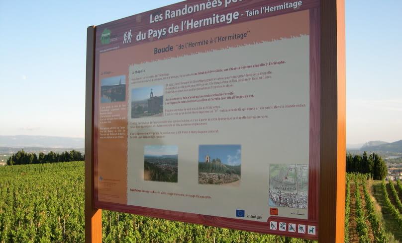 Radonnée De l'Hermite à l'Hermitage