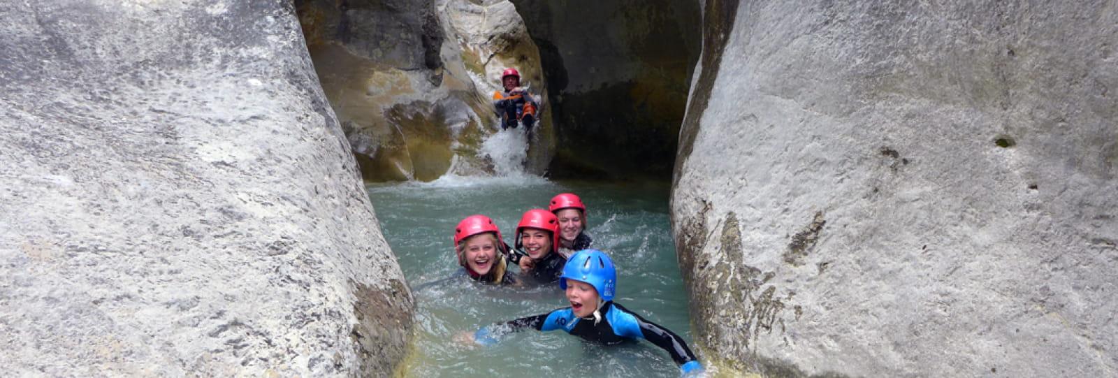 Canyoning et randonnée aquatique dans les Baronnies