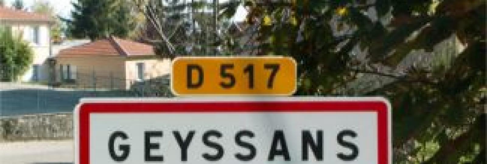 Village de Geyssans