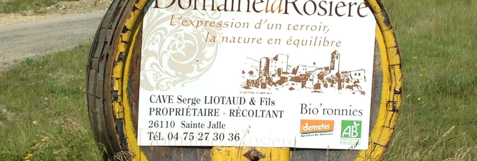 Domaine La Rosière - Cave Valéry Liotaud