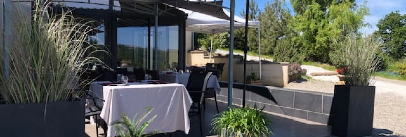 Terrasse restaurant Spa Oasis
