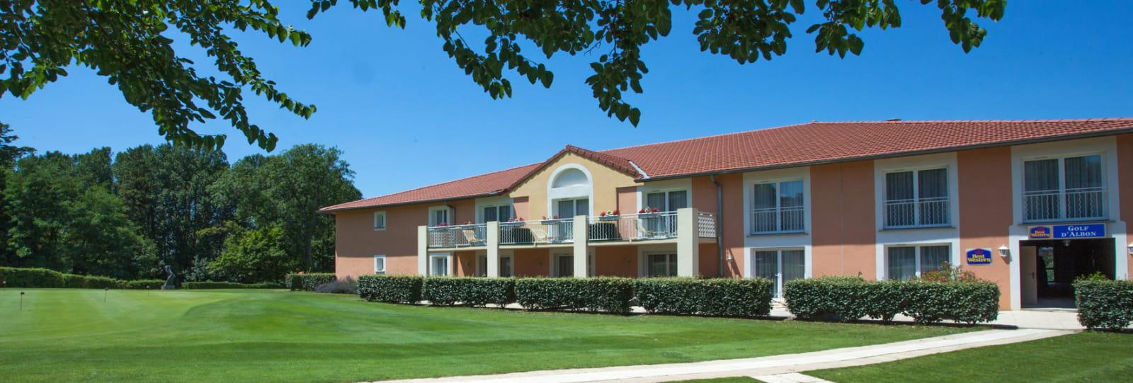 Hôtel best Western golf albon