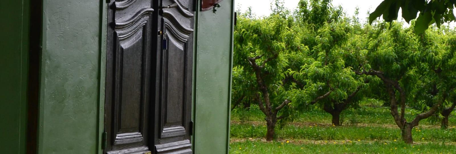 Les roulottes du  Tinal de l'Hermitage