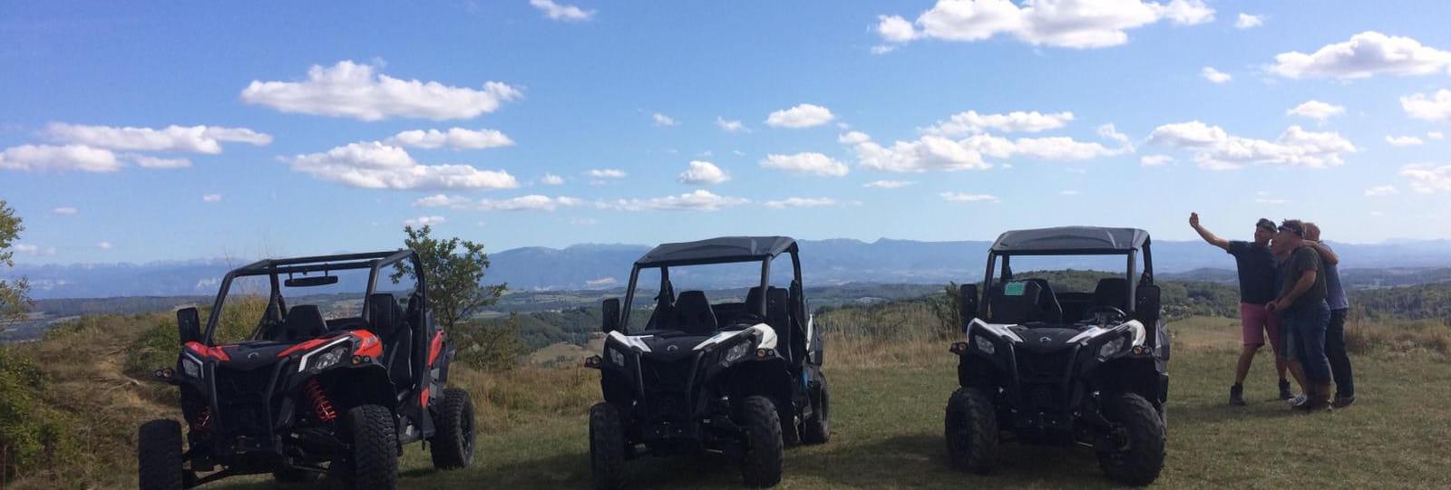 Easy buggy - Balades encadrées en buggy en Drôme des Collines