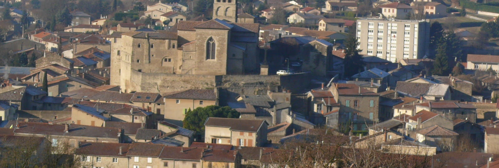 Vue sur Saint Donat sur l'Herbasse_ Michel Arnaud