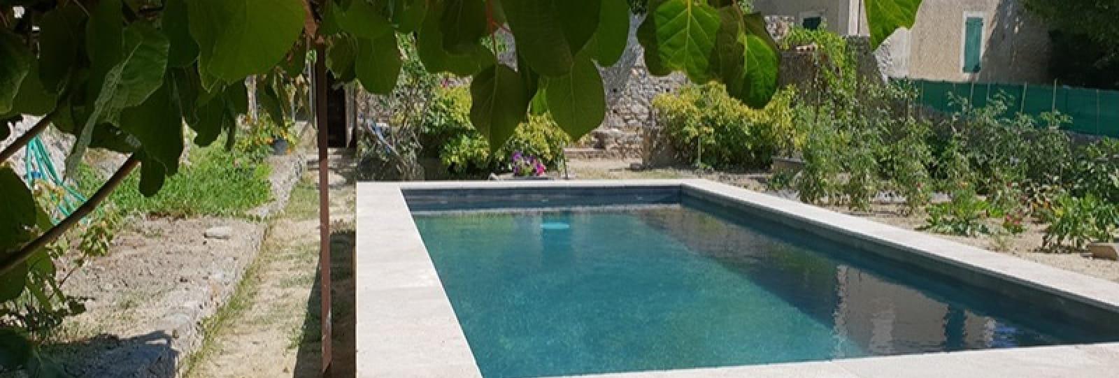 A l'ombre du Figuier maison de charme avec piscine privée dans le parc naturel des Baronnies
