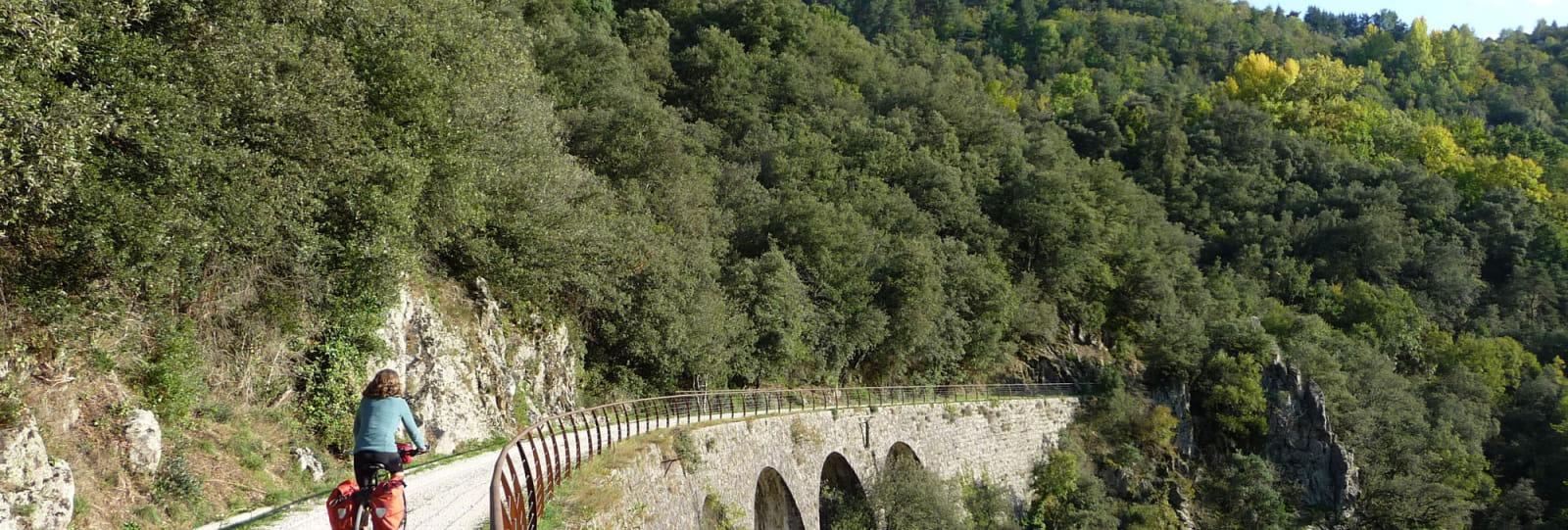 ViaRhôna et Dolce Via de Vienne en Arles-velo sur la Dolce via