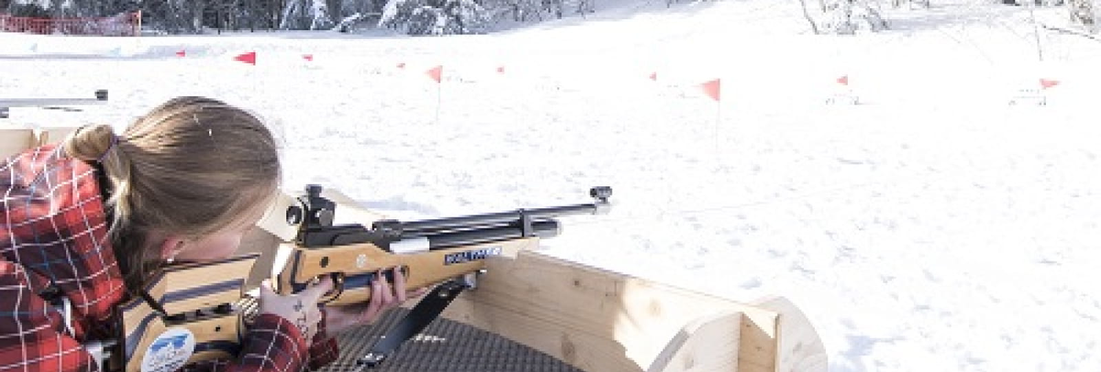 Biathlon découverte carabine à air comprimé