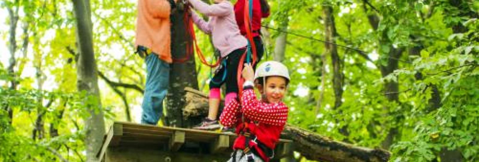 Parcours d'aventure La Forêt de Robin