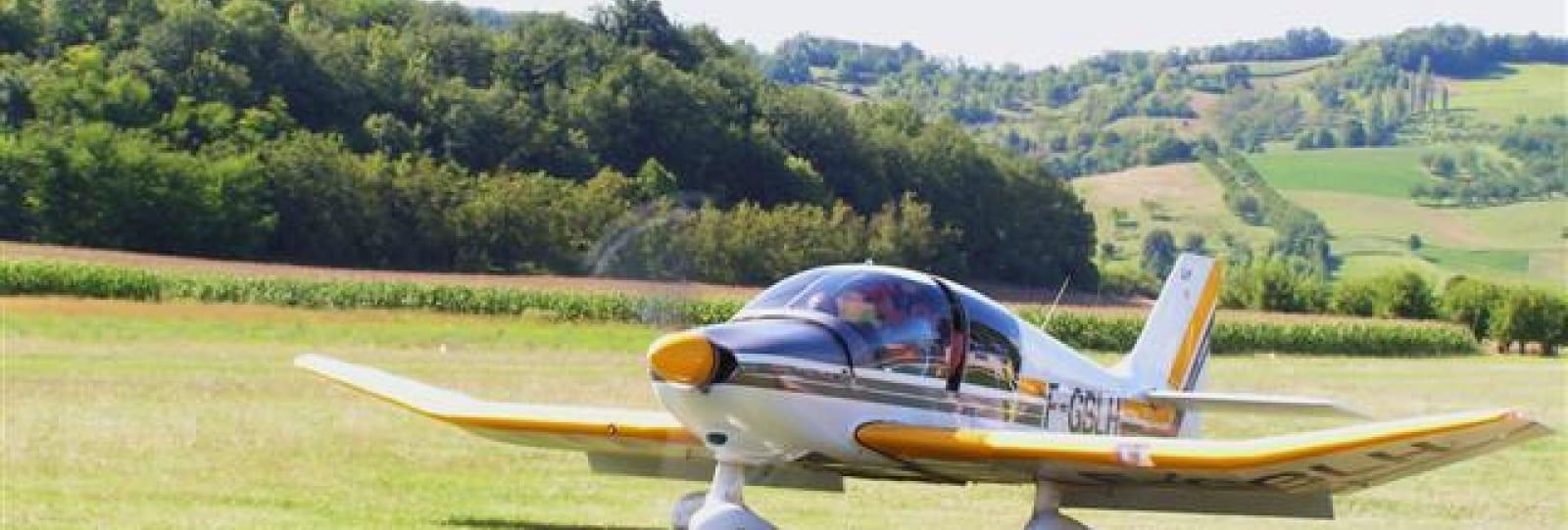 Baptème de l'air aéroclub du Royans Vercors