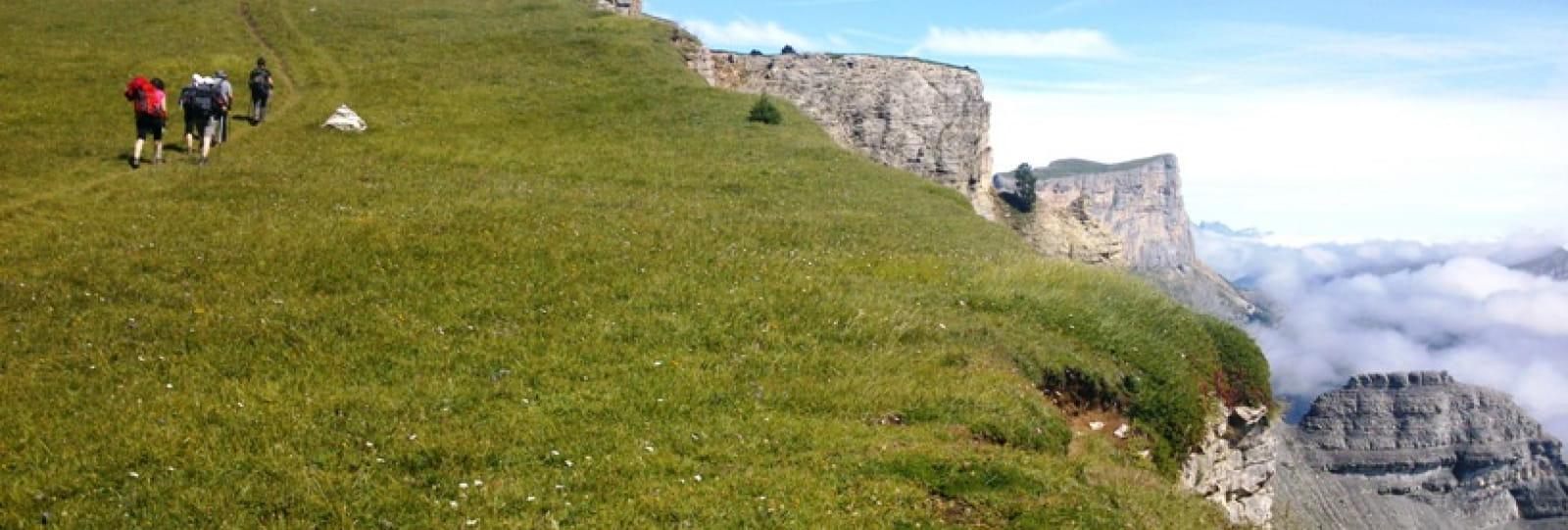 Rando accompagnées dans le sud Vercors pour un séjour 100% nature dans le Diois