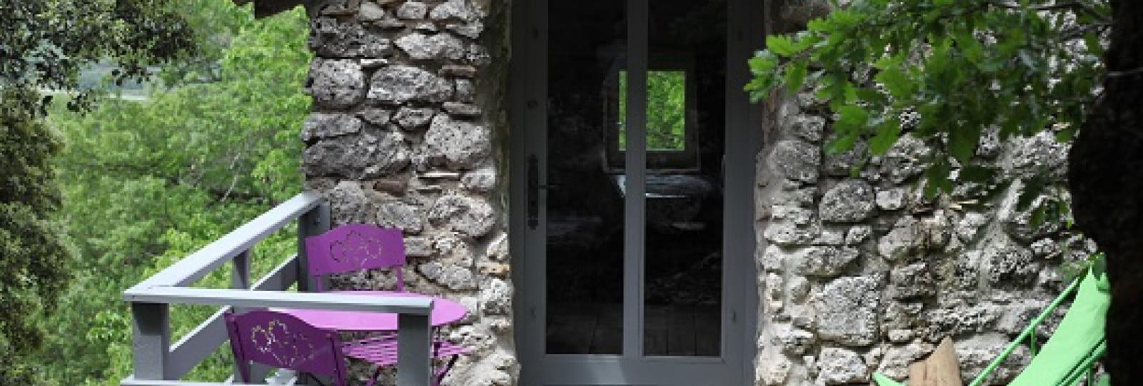 Terrasse - Mas du Pigeonnier