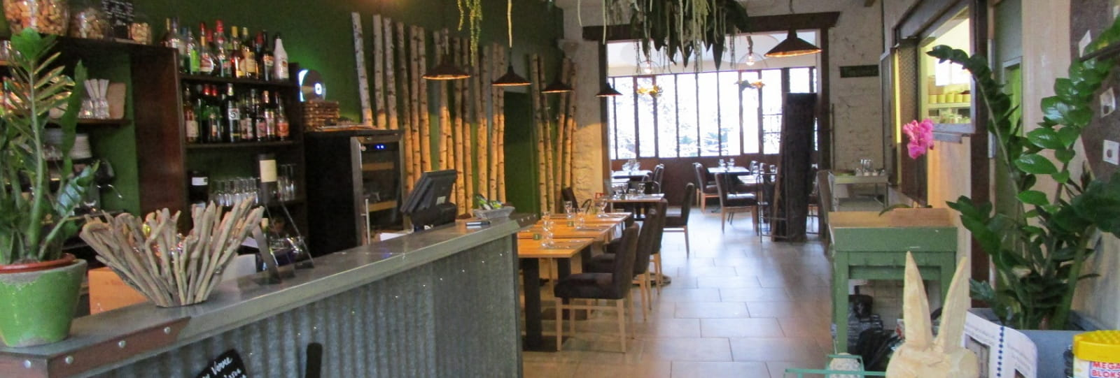 Restaurant Au jardin gourmand_Saint Donat