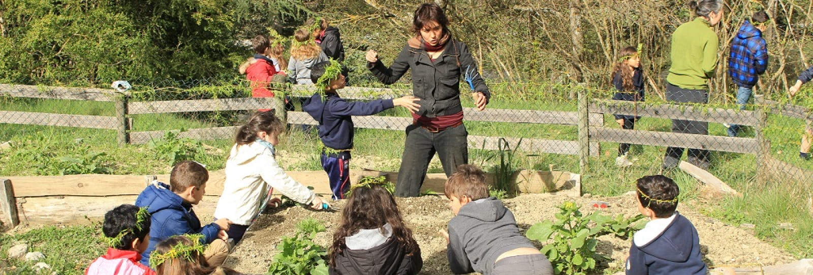 Classe découverte jardin pédagogique iddj drome